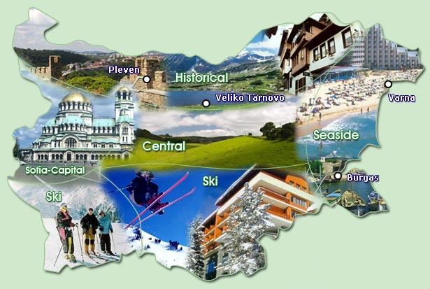 bulgária térkép_nyaralás