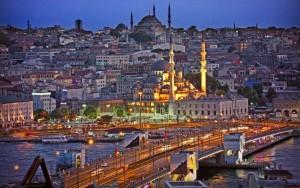Istambul galata híd